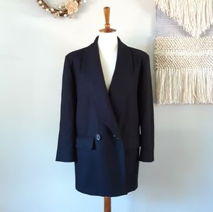 J. Hilary | Vintage Wool Long Two-Button Jacket